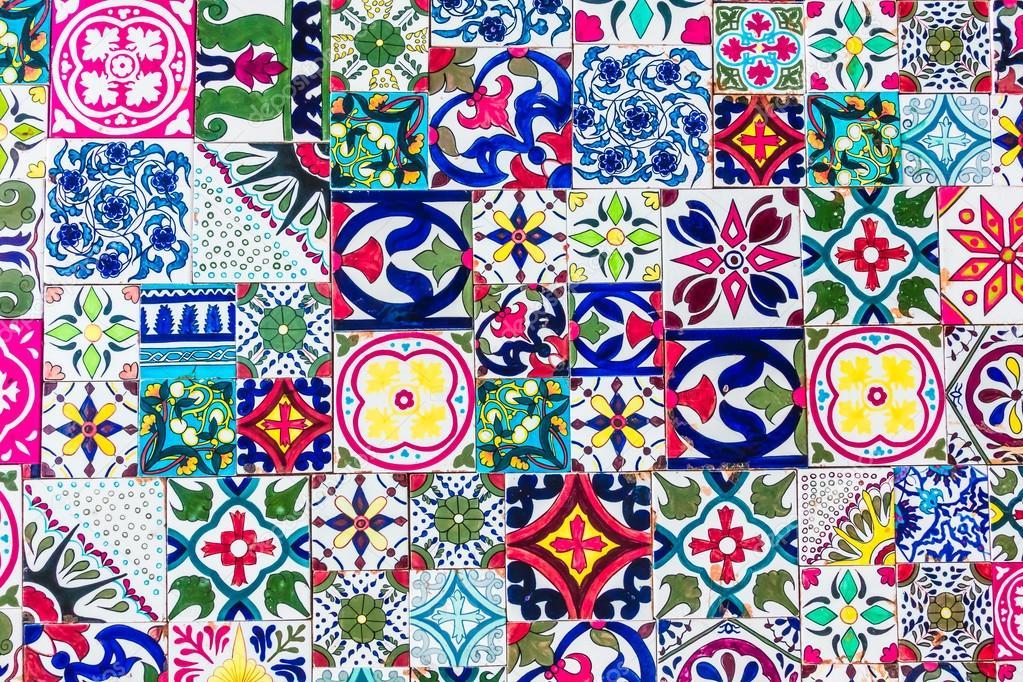 MarokkoMosaik Fliesen Texturen Stockfoto Mrsiraphol - Mosaik fliesen marokko