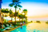 Fotografie blur hotel swimming pool