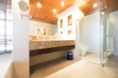 bathroom interior for background