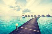 Nádherný tropický ostrov Maledivy