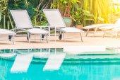 Fotografie venkovní bazén