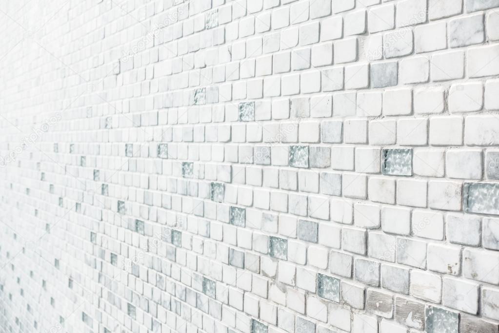 Weiße Fliesen Wand Stockfoto Mrsiraphol - Weisse backstein fliesen