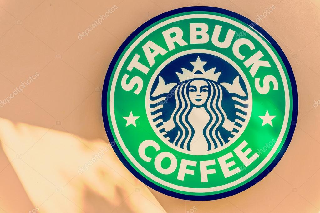 Starbucks Coffee Sign Stock Editorial Photo Mrsiraphol 58181267
