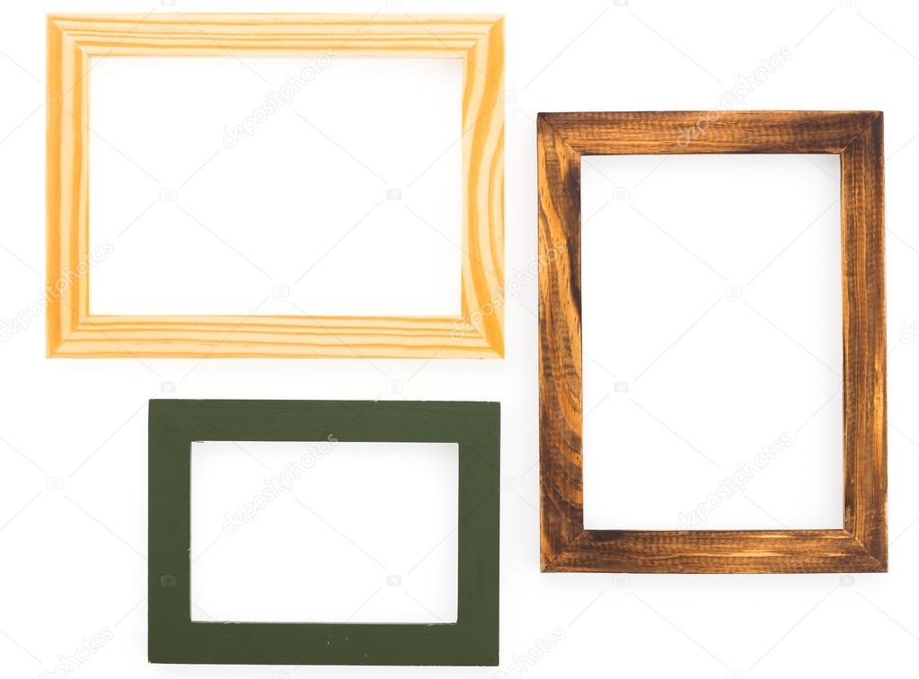Conjunto de marcos en blanco — Foto de stock © mrsiraphol #61014003