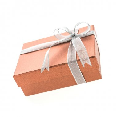 Christmas gift box isolated on white background stock vector