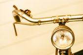 régi vintage kerékpár