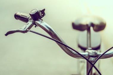 Soft focus on Vintage bicycle