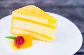 Fotografie sweet tasty cake