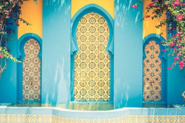 Fountain morocco style