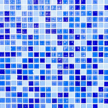 Colorful mosaic tiles