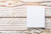 üres fehér papír