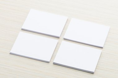 White papers mock up