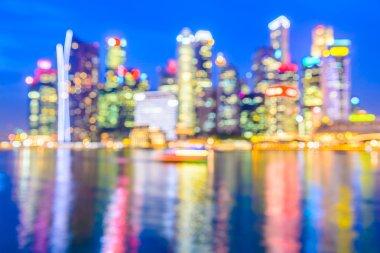 blur singapore city
