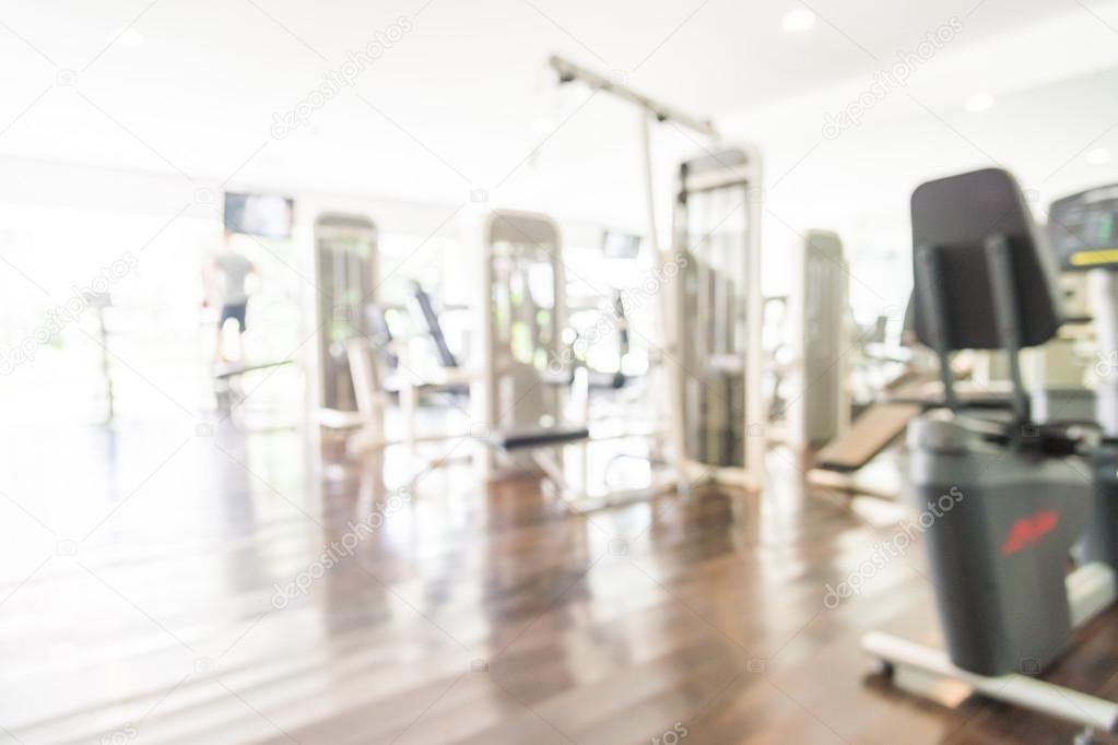 Blur gym background — Stock Photo © mrsiraphol #82040364