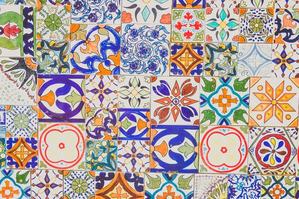 Stile di piastrelle in ceramica del marocco foto stock - Piastrelle in stock ...