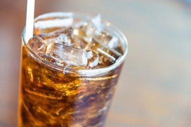 Ice cola glass