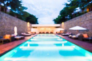 blur pool in hotel
