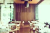 Fotografie Rozostření interiér restaurace