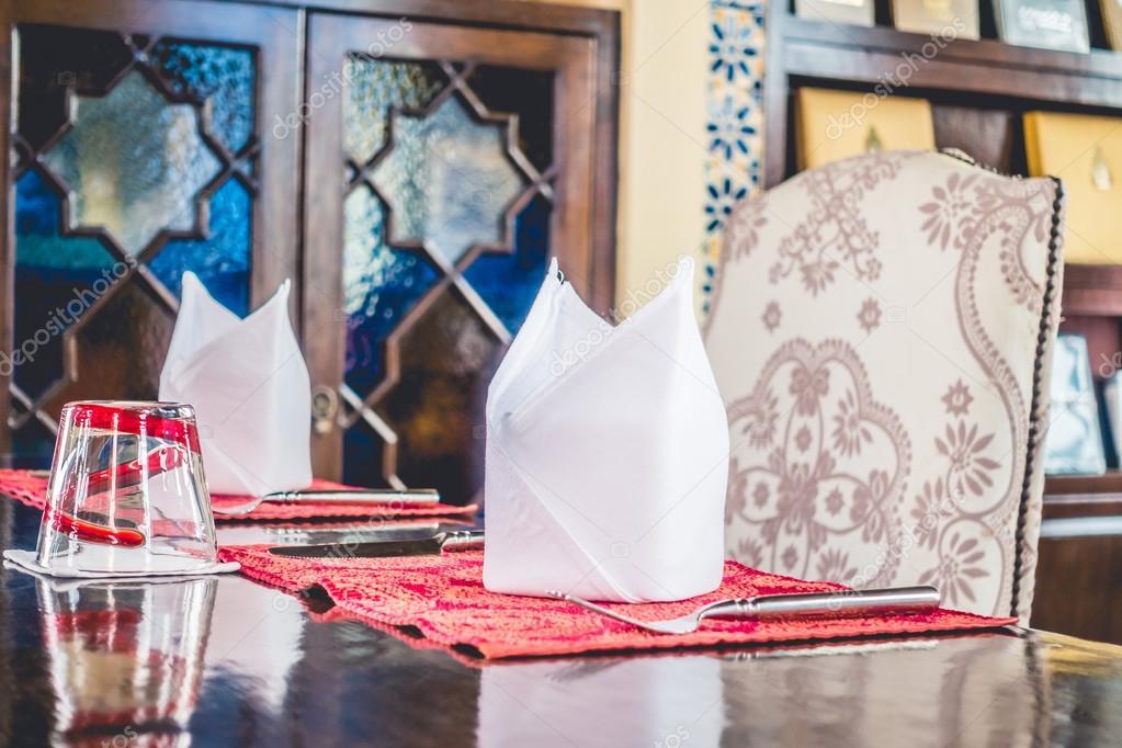 Tisch Mit Marokko Style U2014 Stockfoto