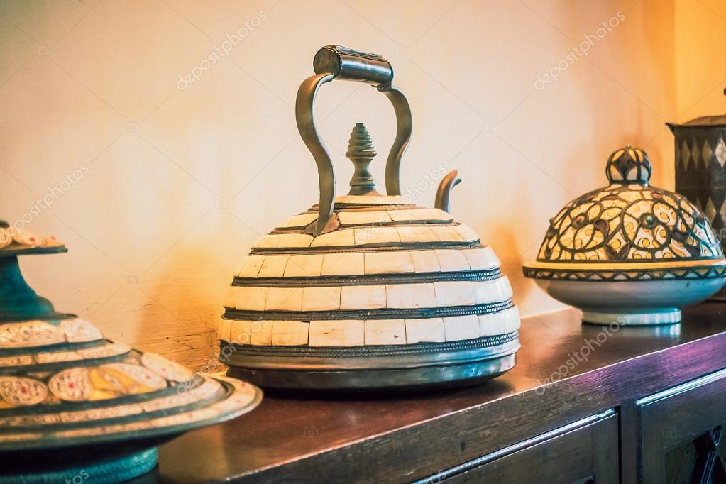 Huis decoratie met marokkaanse stijl u stockfoto mrsiraphol