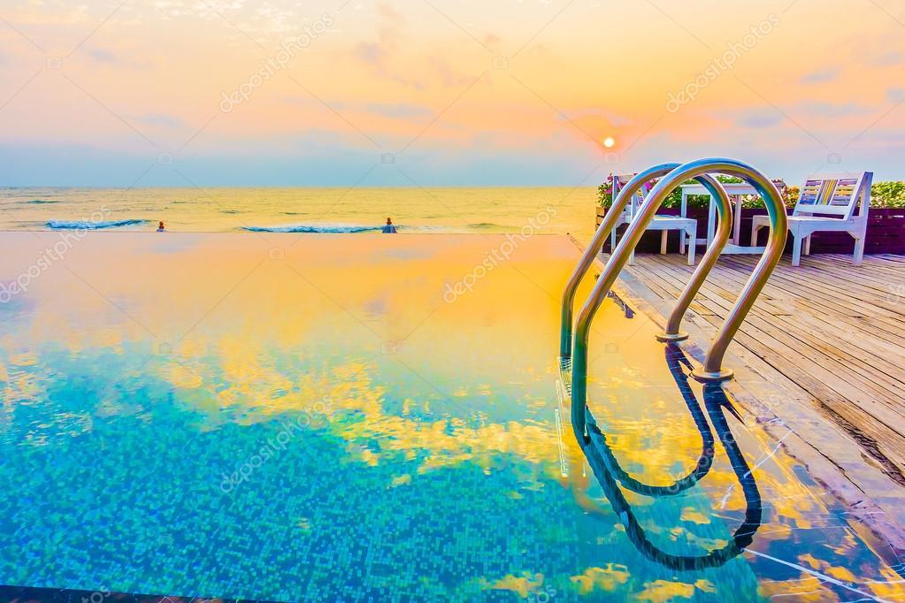 Beautiful luxury Swimming pool resort