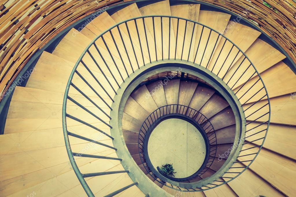 Spiral Circle Staircase U2014 Stock Photo