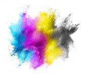 CMYK colored cloud