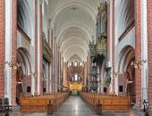 Innenraum des Roskilde Kathedrale, Dänemark