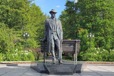 Sergei Rachmaninoff Monument in Veliky Novgorod, Russia