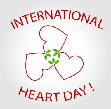 International Heart Day card