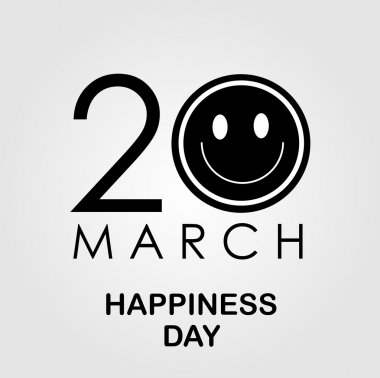 International Day of Happiness- Commemorative Day March 20