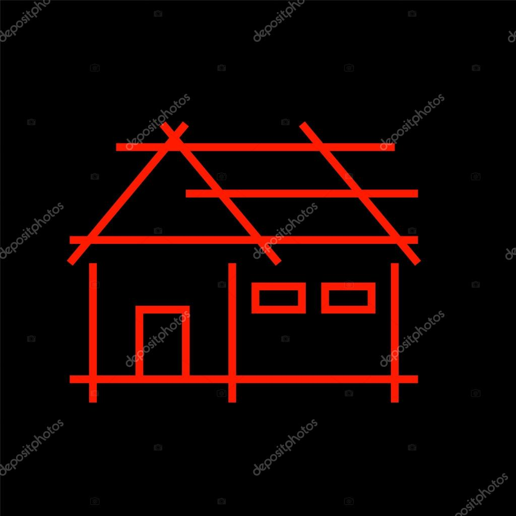 Abstract Home Logo For Real Estate Or Architecture Firm Stock Vector 70601239