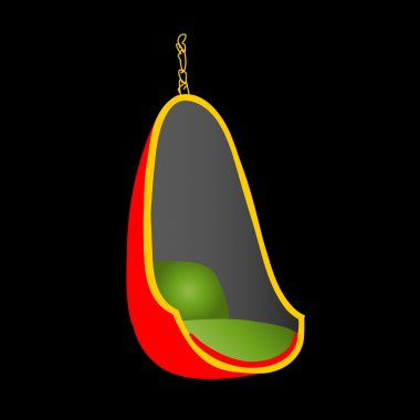 Egg chair- interior design furniture