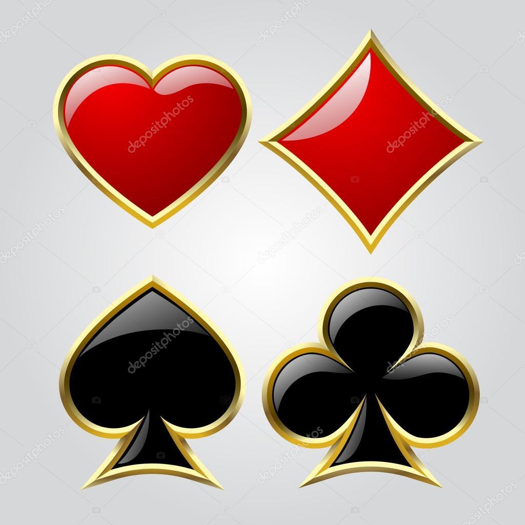 Playing card symbols stock vector maystra 105952178 playing card symbols stock vector 105952178 biocorpaavc