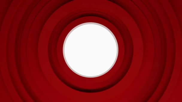 pozadí abstraktní červené kruhy