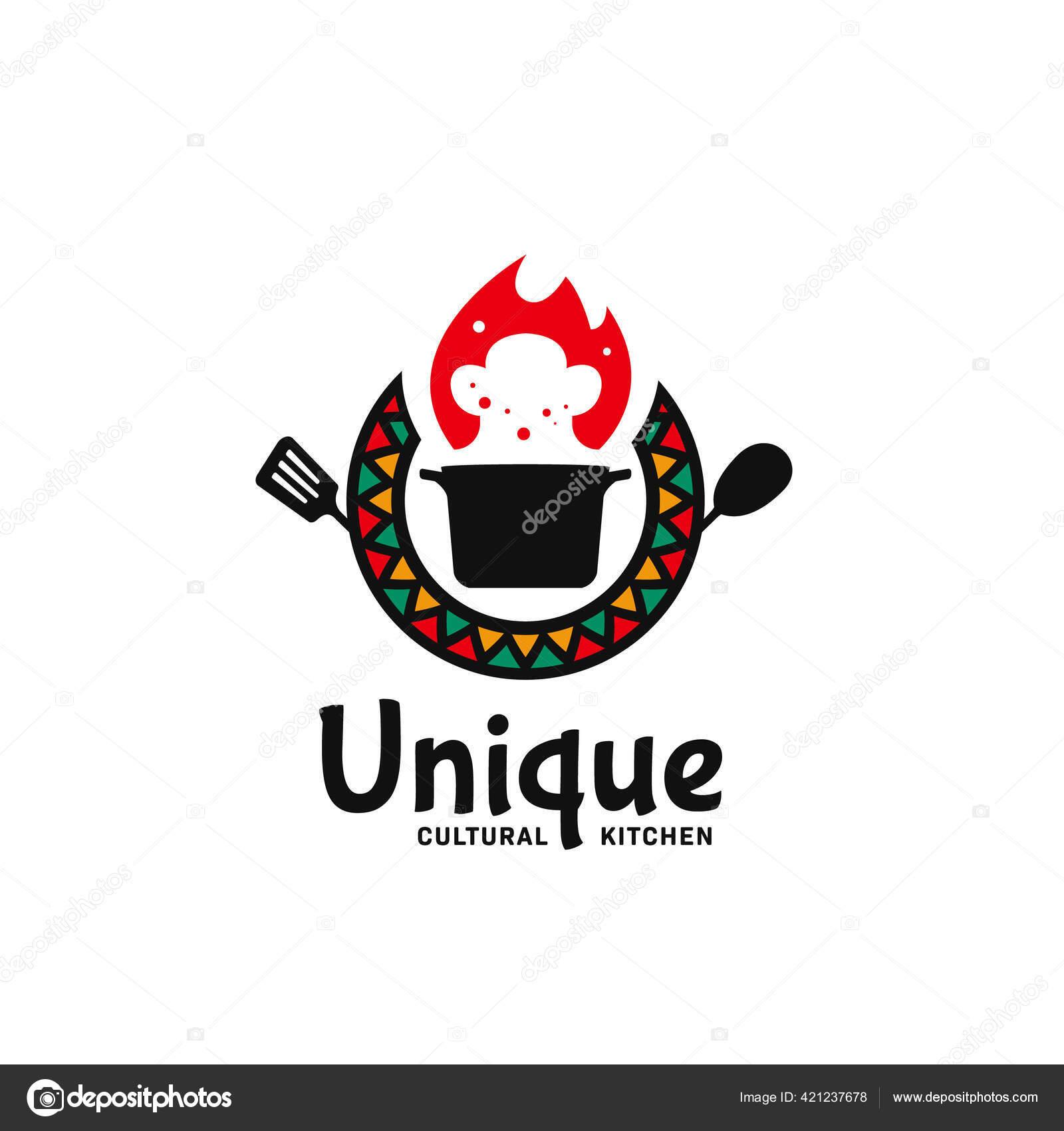 African Restaurant Logo Stock Vectors Royalty Free African Restaurant Logo Illustrations Depositphotos