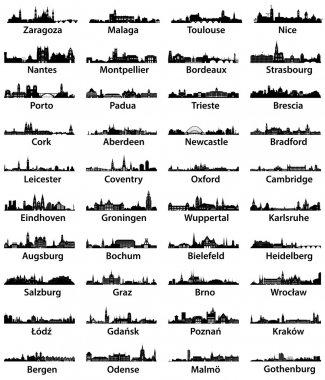 europe city skylines