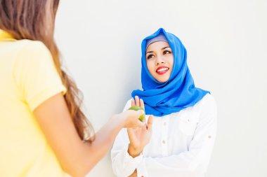 muslim woman fasting on ramadan