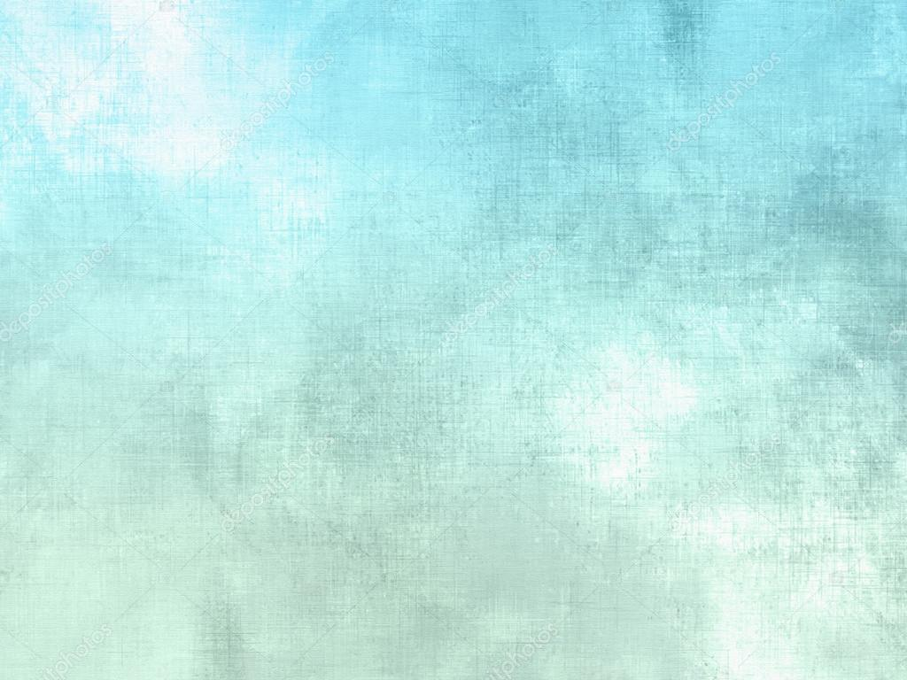 Blue Green Watercolor Background Pastel Abstract Soft Sky Texture With Clouds Stock Photo C Doozie 101502988