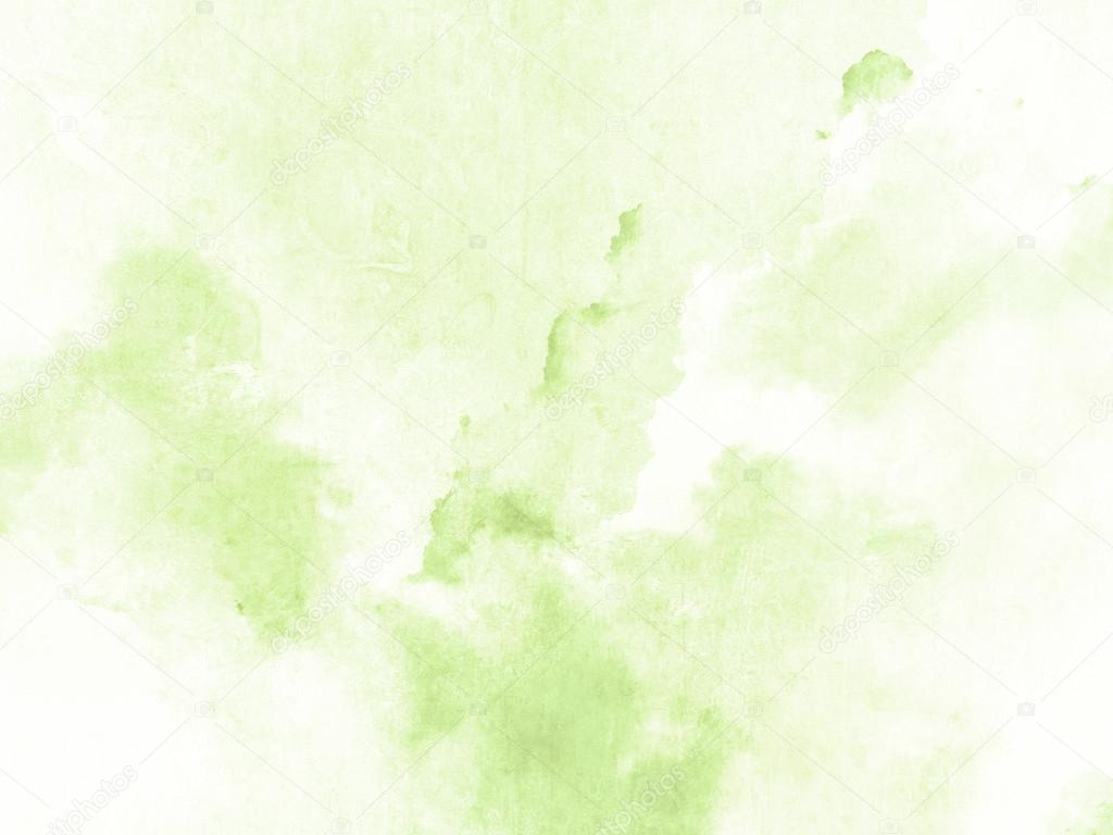 Green Watercolor Background Texture