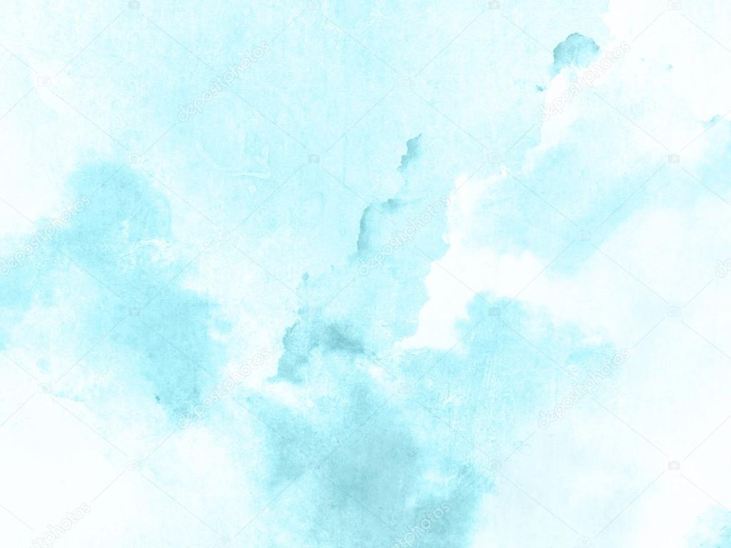 Blue Watercolor Background Texture Stock Photo 169 Doozie
