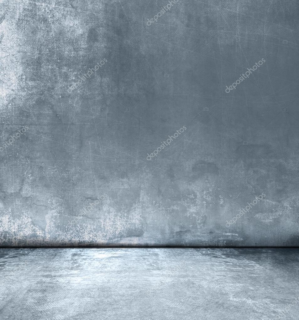 Conception de salon bleu gris grunge - texture abstrait concret ...