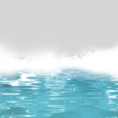 Water background - ocean waves