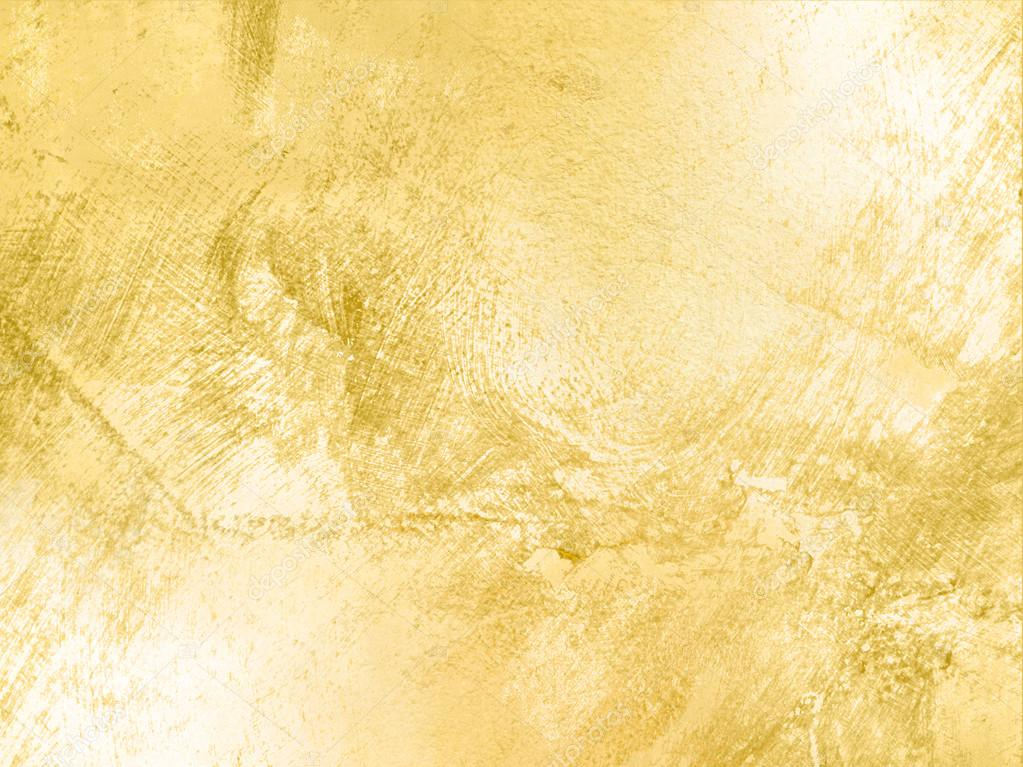 Gold Background Texture In Soft Vintage Style Stock Photo