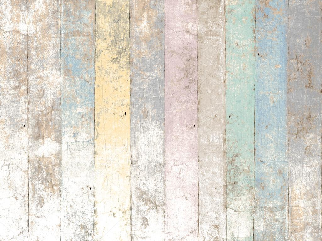 painted wood background with pastel colors in soft vintage