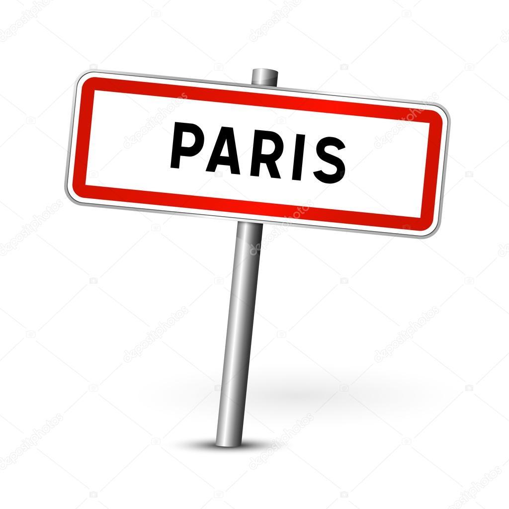 Conseil d 39 administration de paris france panneau de signalisation de vi - Combien de panneau stop a paris ...
