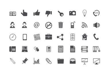 Icon Set Business