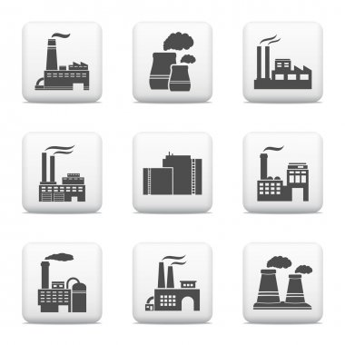 Industrial buildings, power plants and factories