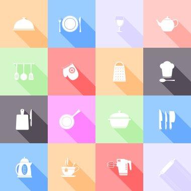 Kitchen tools icons