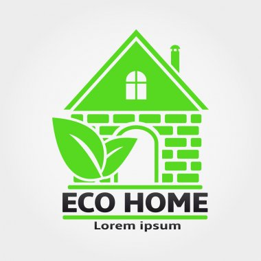 Eco Home Vector